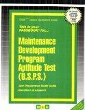 Maintenance Development Program Aptitude Test (USPS)(Passbooks)