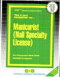 Manicurist, Nail Specialty License