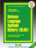 Defense Language Aptitude Battery (DLAB)(Passbooks)