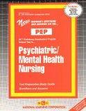 PSYCHIATRIC/MENTAL HEALTH NURSING (Excelsior/Regents College Examination Series) (Passbooks)...