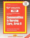 COMMONALITIES IN NURSING CARE, AREA B (NURSING CONCEPTS 2) (Excelsior/Regents College Examin...