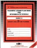 INTERMEDIATE SCHOOLS (MIDDLE) (5-8) (Teachers Lesson Plan Book Series) (Passbooks)