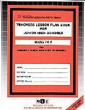 JUNIOR HIGH SCHOOLS (7-8-9) (Teachers Lesson Plan Book Series) (Passbooks)