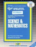 SCIENCE AND MATHEMATICS (National Teacher Examination Series) (Passbooks) (NATIONAL TEACHER ...