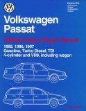 Volkswagen Passat: Official Factory Repair Manual (2 Volume Set) 1995, 1996, 1997: Gasoline,...