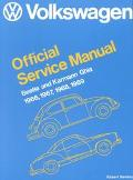 Volkswagen Beetle and Karmann Ghia Service Manual, Type 1 1966, 1967, 1968, 1969