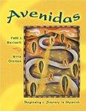 Multimedia CD-ROM for Avenidas: Beginning a Journey in Spanish