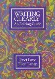 Writing Clearly: An Editing Guide