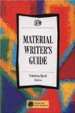 Material Writer's Guide