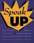Speak Up Book 2: Listening and Pronunciation for High Beginning Students, 2nd Edition