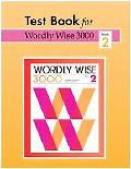 Wordly Wise 3000 Tests Book 2 - Paperback