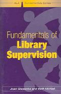 Fundamentals of Library Supervision