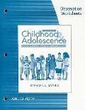 Observation Worksheets for Rathus' Childhood and Adolescence: Voyages in Development, 4th