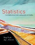 Statistics: The Exploration & Analysis of Data (Available Titles Aplia)