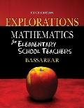 Mathematics for Elementary School Teachers Explorations