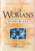Woman's Study Bible Opening the Word of God to Women New the New King James Version