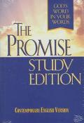 Promise Study Bible: Contemporary English Version (CEV) - Thomas Nelson Publishers - Hardcover