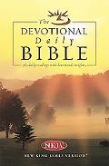 Devotional Daily Bible: Arranged in 365 Daily Readings with Devotional Insights