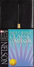 Nelsons Classic Companion Complete Bible New King James Version, Black Bonded Leather Ck Bon...