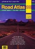 Road Atlas United States, Canada, Mexico 1998