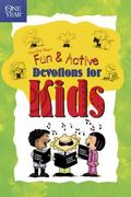 One Year Book of Fun & Active Devotions for Kids