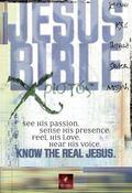 Jesus Bible New Living Translation, Crimson Red Bonded Leather