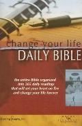Change Your Life One Year Bible-Nlt