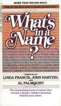 What's in a Name? - Linda Francis - Paperback - REISSUE