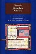 On Asthma, Volume 2: Critical Editions of Hebrew and Latin Translations