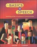 Basics of Speech Learning to Be a Competent Communicator