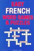 Easy French Word Games and Puzzles