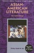 Asian-American Literature An Anthology