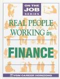 Real People Working in Finance