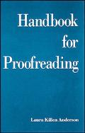 Handbook for Proofreading