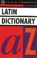 Teach Yourself Latin Dictionary