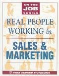 Real People Working in Sales & Marketing