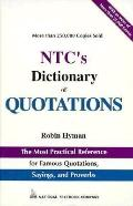 NTC's Dictionary of Quotations