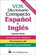 Vox Diccionario Compacto Espanol E Ingles Ingles-Espanol/Espanol-Inges