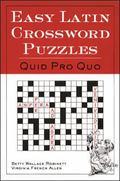 Easy Latin Crossword Puzzles Quid Pro Quo