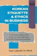 Korean Etiquette+ethics in Business