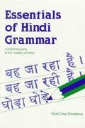 Hindi Verbs and Essentials of Grammar - Murli Dhar Srivastava - Paperback
