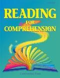 Reading For Comprehension Level Aaa Emergent Reader