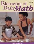 Elements of Daily Math : Grade 4