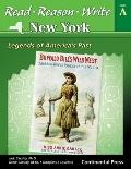 Read, Reason, Write: New York : Student Book Level A (grade 1) Legends of America's Past
