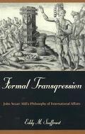 Formal Transgression John Stuart Mill's Argument for Colonization