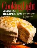 Cooking Light: Annual Recipes 1998 - Leisure Arts - Hardcover - Annual