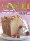 Cooking Light Annual Recipes 2001