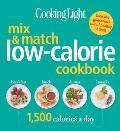 Mix and Match Low-Calorie Cookbook : 1500 Calories a Day