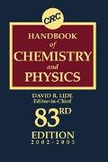 CRC Handbook of Chemistry and Physics, 2002-2003 A Ready-Reference Book of Chemical and Phys...