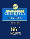 CRC Handbook of Chemistry and Physics, 86th Edition